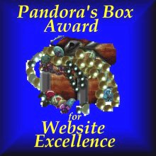 Pandora's Box Award for Web Excellence