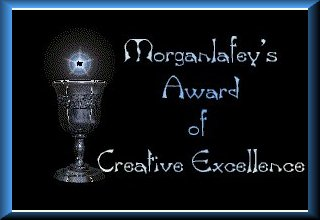 Morganlefey's Award of Creative Excellence